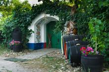 Wine Cellar In Southern Moravi...