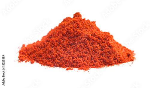 Photo  Ground chili pepper.