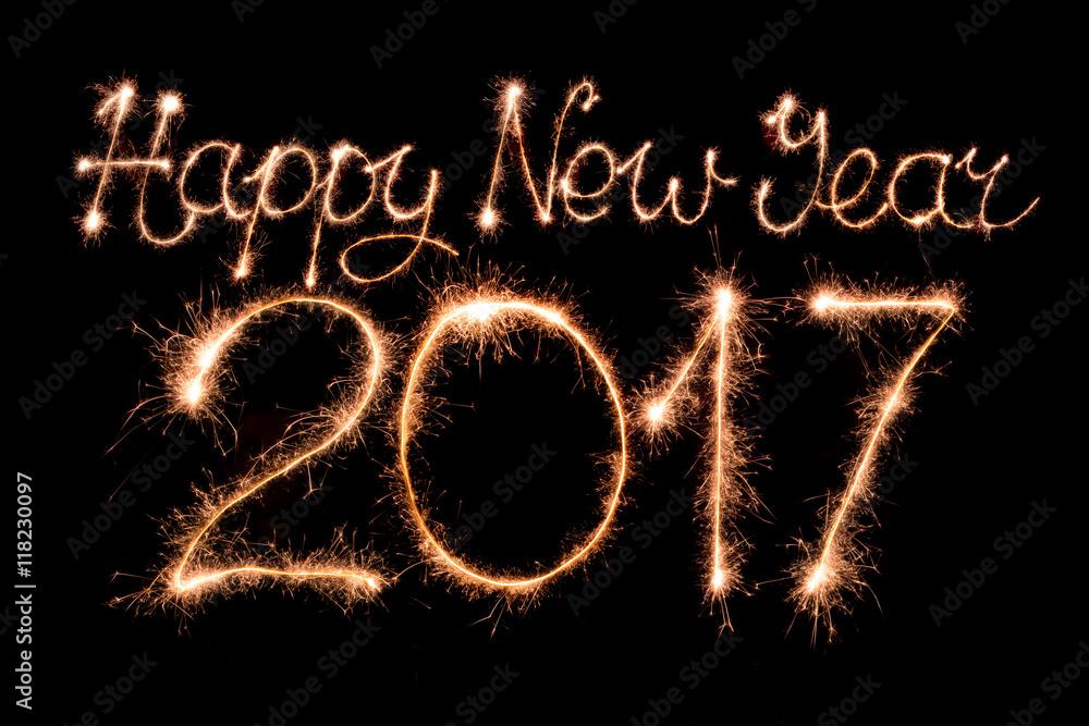 Happy New Year 2017 Foto Poster Wandbilder Bei Europosters