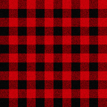 Classic Lumberjack Plaid Vecto...