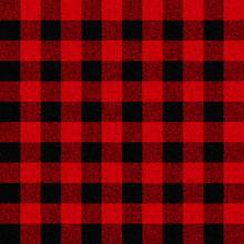 Classic Lumberjack Plaid Vector Seamless Pattern