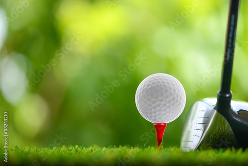 Photo sur Aluminium Golf drive golf