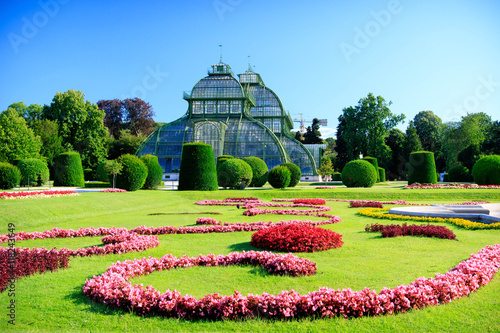 Foto op Canvas Wenen Orangery in the park in Vienna