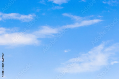 Aluminium Prints Heaven Clear blue sky with cloudy as a background wallpaper, pastel sky wallpaper