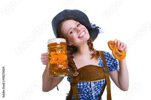 Fotografie, Obraz  Lederhose und bier