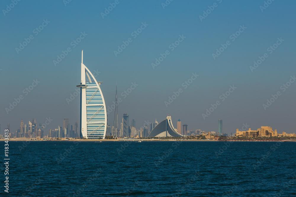 Fotografía  luxury hotel Burj Al Arab