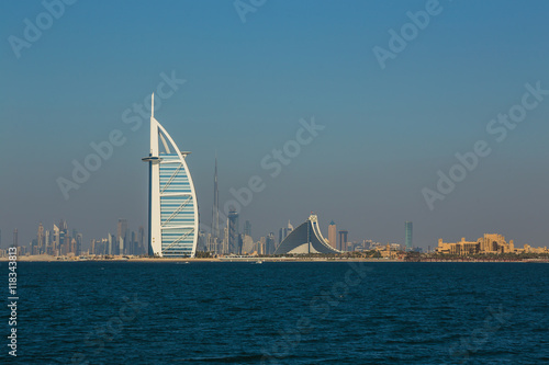 luxury hotel Burj Al Arab Canvas Print