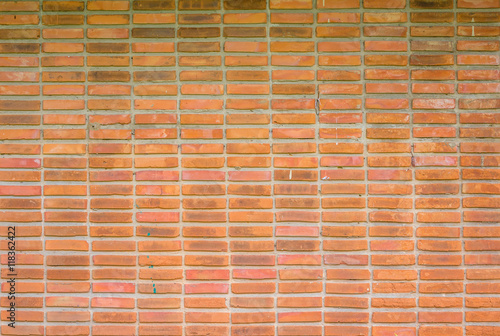 Tuinposter Grill / Barbecue Bricks wall background texture