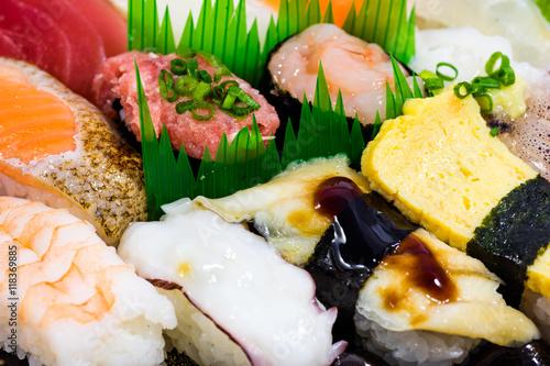 Japanese Sushi set - 118369885