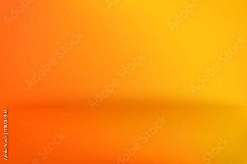 Background Studio Horizon Yellow Orange Vector