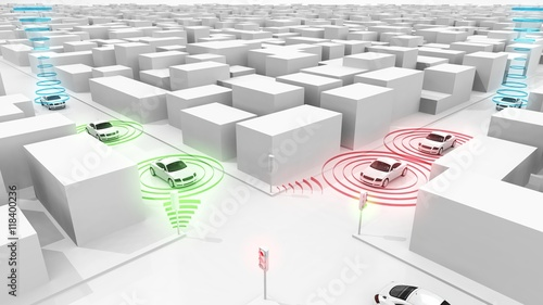 Connected cars - smart traffic lights