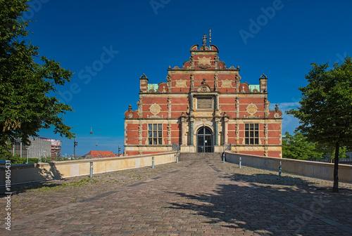 Photo  The Borsen, Oldest Stock Exchange Building in Slotsholmen, in central Copenhagen