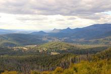 Picturesque Mountain Landscape At Keppel Lookout At Marysville, Victoria, Australia