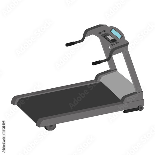 Photo  walker gym equipment sport training exercise firness vector illustration isolate