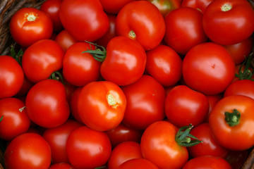 fresh tomatoes background