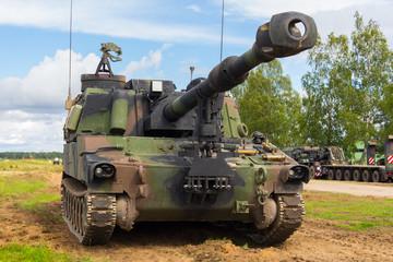 Fototapetaamerikanische Panzerhaubitze