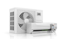 Air Conditioning Isolated On W...