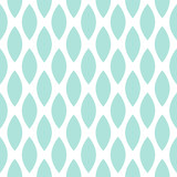 Blue drops vector seamless geometric pattern.