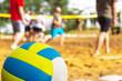 Volleyball am Spielfeld