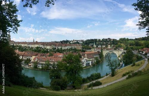 Fototapeta Bern die Hauptstadt in der Schweiz obraz na płótnie