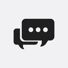 Message Icon Illustration