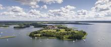 Lake Wigry National Park. Suwalszczyzna, Poland. Blue Water And