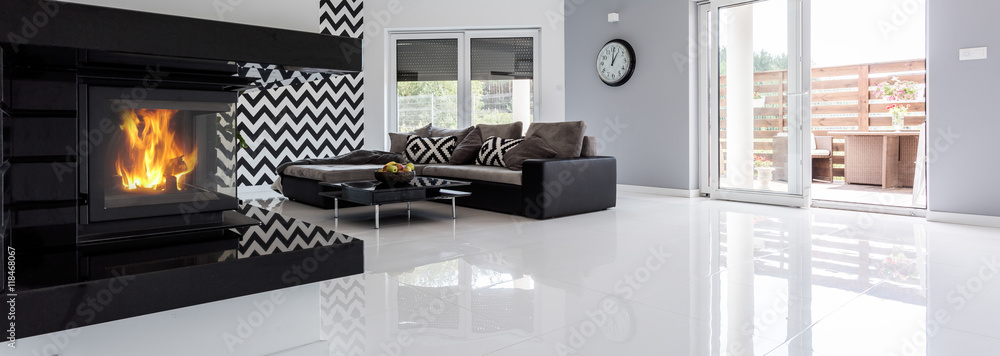 Fototapeta High gloss flooring