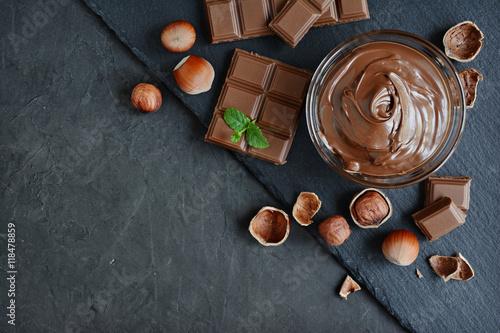 Fotografía  Hazelnut chocolate spread