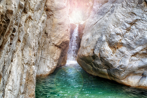 La pose en embrasure Canyon Amazing view of Goynuk canyon, Antalia, Turkey