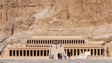 Luxor, Egypt - Oktober 15: The Temple Of Hatshepsut Near Luxor I