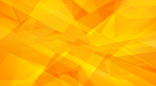 Autumn And Summer Orange, Yellow Abstract Triangle Background
