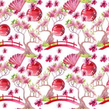 Japanese Seamless Pattern