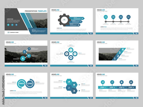 Blue abstract presentation templates infographic elements template blue abstract presentation templates infographic elements template flat design set for business proposal brochure flyer thecheapjerseys Choice Image