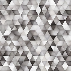 Panel Szklany Vector Seamless Multicolor Gradient Triangle Shape Grid Geometric Pattern