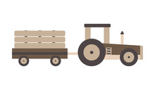 Vector Illustration Of A Toy W...