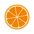 orange fruit food natural organic nutrition nature vector illustration
