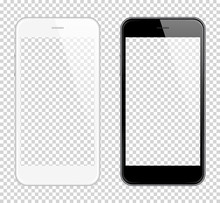 Realistic Smart Phone Vector M...