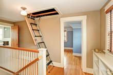 Hallway Interior With Folding ...