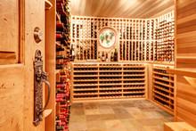 Bright Home Wine Cellar With W...