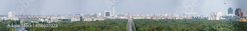 Zdjęcie XXL Wspaniała Panorama Berlina z Kolumny Zwycięstwa, Niemcy