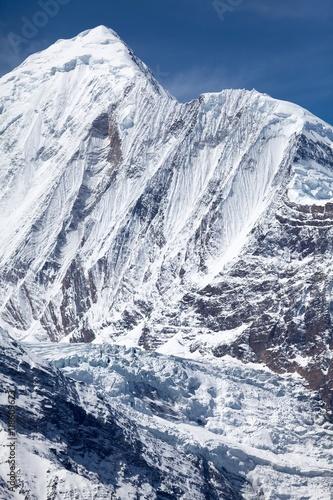 Photo North face of Annapurna II, Annapurna Conservation Area, Manang, Nepal