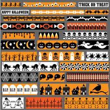 Halloween Washi Tape Clipart