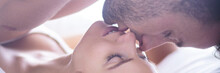 Pair Kissing And Caressing