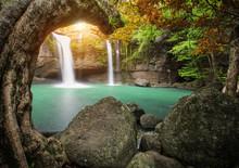 Hew Su Wat Waterfall In Khao Y...