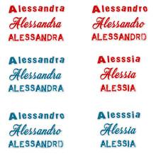 Nome Donna Uomo Alessandra Ale...
