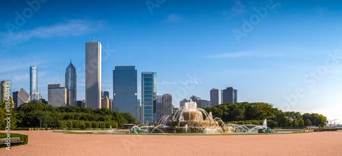 Canvas Print Buckingham Fountain, Chicago