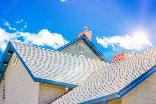 House Roof Roofing Business Fototapeta
