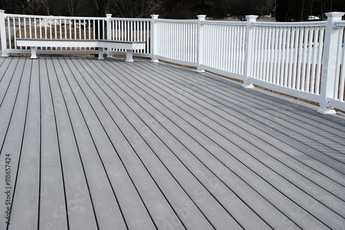 La pose en embrasure Ponts painted deck