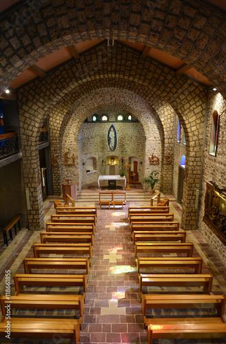 Greccio (Rieti, Italy) - A medieval town in Lazio region, famous for the catholic sanctuary of Saint Francis Fotomurales
