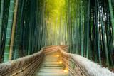 Fototapeta Bambus - Arashiyama Bamboo Forest